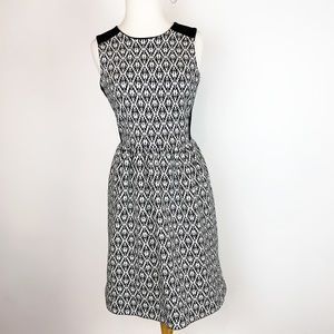 MADEWELL FIT AND FLARE DRESS SIZE XS